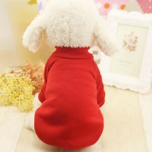 Dog Basic Sweatshirt Shirt Sweater Pet Coat Basic XS to XL for SMALL Dog or CAT