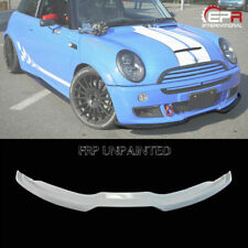 For Mini Cooper R53 03-07 FRP Unpainted DAG1 Style Front Bumper Lip Splitter Kit