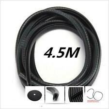4.5 M U-Type Car Truck Van Door Rubber Seal Hollow Strip Weatherstrip Sealing