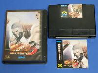 FATAL FURY 3 Garou Densetsu SNK Neo Geo AES Import Japan 19001094