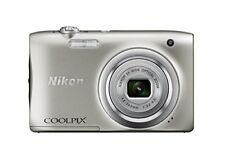 New Nikon COOLPIX A100 Silver Compact Digital Camera Japan Domestic Version