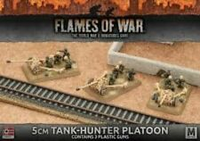 Flames of War GBX93 - Afrika Korps 5cm Tank-Hunter Platoon (Plastic x 3)