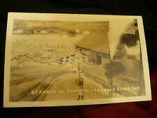 B F Harris sawmill postcard Saskatchewan Crooked River front caption #1474