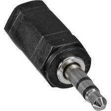 ADATTATORE connettore Jack F 2.5 a Jack M 3.5 stereo cuffia microfono pc audio c