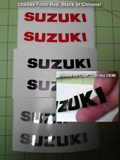 Hayabusa Motorcycle Decals for Front/Rear Fairings (Hood/Tail), LIKE ORIGINALS!