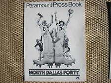 NORTH DALLAS FORTY PRESSBOOK 1979 BROCHURE FILM MOVIE AMERICAN FOOTBALL