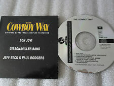 CD-BON JOVI-THE COWBOY WAY-JEFF BECK & PAUL RODGERS-RARE-(CD SINGLE)1994-3 TRACK