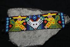 Huichol Beaded Man Deer Bracelet ZZZ