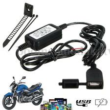 Waterproof USB Power Port 5V 2A Charger for iPhone Smartphone GPS Motorcycle