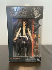 Hasbro Star Wars The Black Series Orange Line #8 Han Solo Figure Never Open NIB