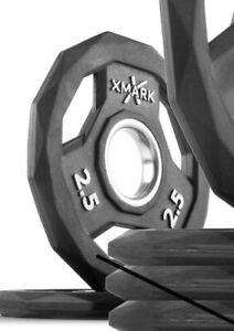 "1 New Rubber XMark Sport 2.5lbs Olympic 2"" Bumper Weight Plate"