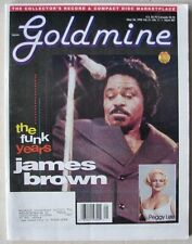 GOLDMINE issue 387  May 1995  JAMES BROWN   PEGGY LEE   MACEO PARKER