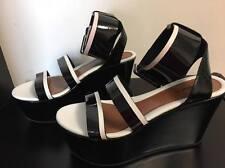 MAX&CO MAX MARA patend leather wedges Platform heels sandles shoes IT36/US6/AU5