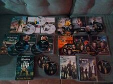 Breaking Bad  DVD Lot - Season 1 2 3 4 & Season 5 (18 DVDs)