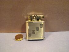 Vtg Ronson Whirlwind Lighter_4 Crests_Excellent Cond.-Art Deco_Windproof_Working