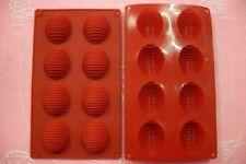 MOULE SILICONE 8 PETITS FOURS / ŒUFS DE PAQUE 27 X 16 CM