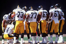 NFL 1990's Pittsburgh Steelers Offense Color 8 X 12 Photo Picture