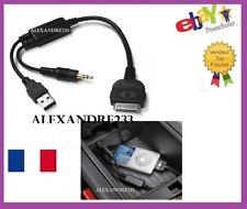 Cable adaptateur iphone ipod pour BMW Série 3 Limousine après 03/2005
