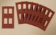 Auhagen H0 Système modulaire 80508: 8 Cloisons 2322A, rouge