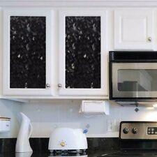 GILA Crystal Noir Privacy Decorative Window Film Static Cling 3 x 6.5 feet