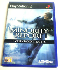 MINORITY REPORT EVERYBODY RUNS - PS2 PLAYSTATION -5030917018381- MODENA