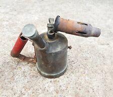 Vintage Original Alux Brand Brass-Iron Blowtorch