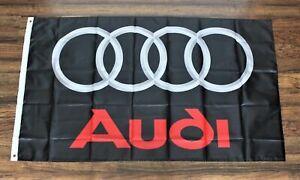 New Audi Racing Banner Flag Motorsports Automobile Car Garage Man Cave Rings
