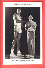 1965  NEW MEXICO  MEL DANIELS  GLOSSY  TEAM ISSUED  PHOTO  HOF
