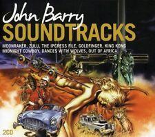 John Barry Soundtracks - 2 x CD Movie Themes - Slipcase - John Barry