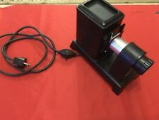 VINTAGE AGFA OPTICUS DIAPOSITIVE PROJECTOR PHOTO BLACK & WHITE + COLORS WORKING