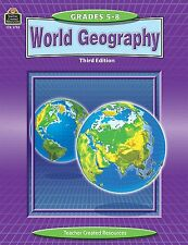 Teacher Created Resources World Geography Education Printed Book for Geography