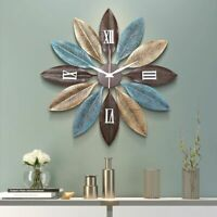 Nordic Metal Wall Clocks Hanging Crafts Decoration Home Living Room Watch Decors