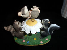 "Vintage Charming Tails Figurine""The Blossom Bounce"" 83/704,Fitz & Floyd,1990's"