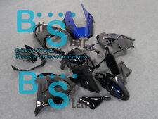 Black ABS Fairing Bodywork Plastic Kit Kawasaki Ninja ZX-9R 2000-2001 014 D2