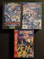 Streets Of Rage 1, 2, 3 Trilogy (Sega Genesis, 1991, 1992, 1994)