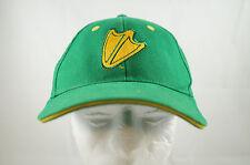 University of Oregon Ducks NCAA Cap Hat Green Yellow Foot Strap Back Vintage