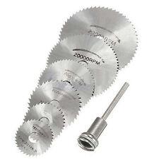 For Metal Cut Rotary cutter Mini HSS Circular Saw Disc Blades Blade Cutter 6Pcs