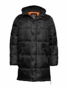 SUPERDRY Mens Street Longline Puffer Jacket