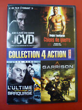 JCVD / Garrison / Chiens de Guerre / L'Ultime Braquage DVD 4 Films French ONLY