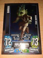 Force Attax Star Wars Serie 4 Star Karte 201 Ganodi Sammelkarte Trading Card