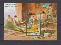 S19246) Brasilien Brazil 1988 MNH Neu Brasilien S/S