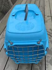 Cat Carrier / Pet Traveller / Pet Crate - 48cm Light Blue