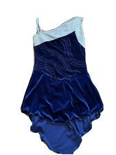 New listing Sixo Ice Skating Dress Womens Medium Blue