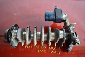 ALBERO MOTORE CON POMPA OLIO FIAT STILO 2002 1.9 JTD 110 CV COD 46744429