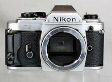 Nikon FG 35mm Film Camera Looks and Works Great
