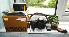 Nikon D5600 body MINT - Shutter count only 101! with cases