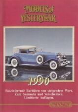 "Matchbox ""Models of Yesteryear"" & ""Dinky"" Katalog 1990 deutsch"