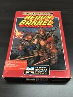 Vintage 1989 Data East Heavy Barrel Game Computer Apple II IIe, IIc, IIGS Rare