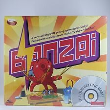 BANZAI DVD GAME FROM FUN JAPANESE STYLE TV SHOW NEW sealed box