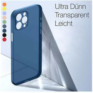 Ultra Dünn Hülle iPhone 11 12 / Pro / Max SE 7 8  Handy  Schutz Case Slim Cover